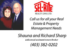 BUY OR SELL IT RIGHT WITH SEL-RITE REALTY (2001) LTD
