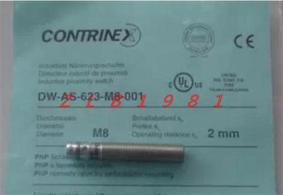 Contrinex DW-AS-703-M8-001 DWAS703M8001 Induktiver Sensor used