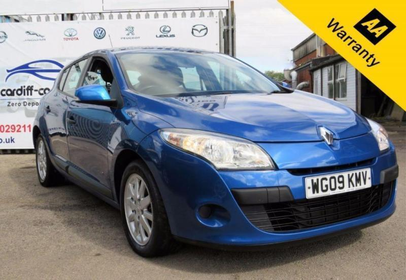 2009 09 RENAULT MEGANE 1.6 EXTREME VVT 5D 100 BHP! P/X WELCOME! 2 OWNERS! LOW MI