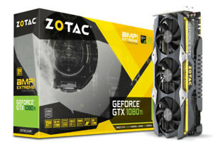 ZOTAC GeForce GTX 1080 Ti AMP Extreme Core Edition Video Card