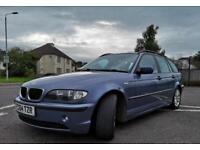 2004 BMW E46 320D 2.0 ES Touring Estate Diesel Manual 5 Door - MOT August 2019