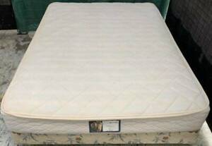 Good condition King Koil brand double bed mattress with base for sale