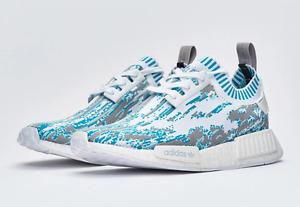 Adidas x SNS Datamosh NMD R1 PK Aqua Size 9.5 City of Toronto Toronto (GTA) image 2