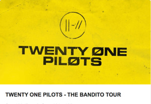 TWENTY ONE PILOTS VANCOUVER - LOWER BOWL, AISLE SEATS, CHEAP!