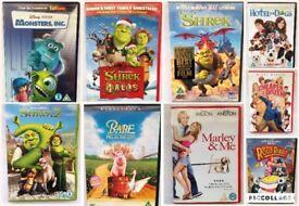 Kids DVD's - 50p each