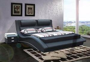 Kris Queen Bed, Genuine Leather, Was $999, Now only $599