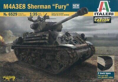 "M4A3E8 Sherman - ""Fury"" - 1:35 - Italeri 6529"