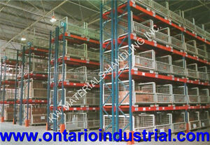 PALLET RACKING & SHELVING IN STOCK. LOW PRICES & FAST DELIVERY