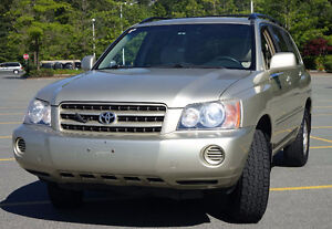 2001 Toyota Highlander SUV AWD Buy or Lease it excellent conditi
