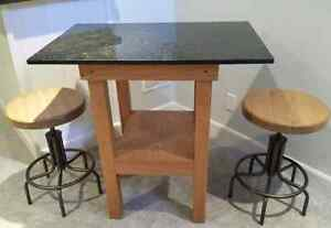 Island and Stools * Delivery Available *