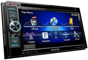 """Kenwood DDX470 In-Dash 6.1"""" Double-DIN LCD Touchscreen DVD"""
