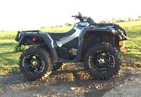 2012 Can am Outlander 1000XT