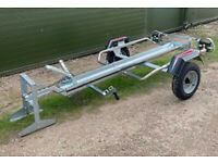 Maypole Single Motorbike Trailer - NEW
