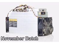 Antminer D3 Dash Crypto Miner direct from Bitmain Mid Nov shipment