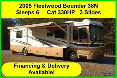 2005 Fleetwood Bounder Used Diesel Pusher Motor Home Coach Class A Motorhome RV