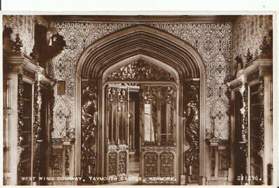 Scotland Postcard - Taymouth Castle - Kenmore - Real Photograph - Ref 12086A