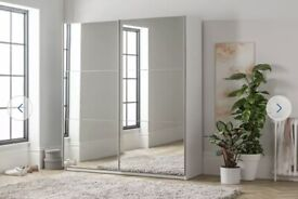 Large holsted mirrored sliding doors