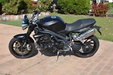 Matte Black Speed Triple 08, Low Kms, One Owner Bonnells Bay Lake Macquarie Area Preview