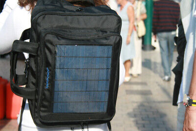 Maletín Mochila Bandolera 3 en 1 cargador solar panel charger briefcase backpack