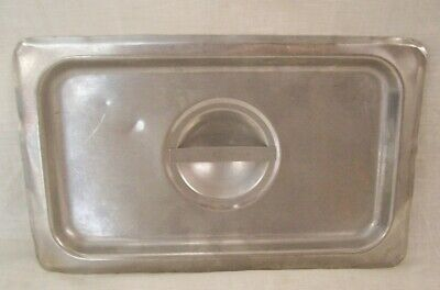 Restaurant Supplies 2 Stainless Steel Steam Table Food Pan Lids 14th Fourth