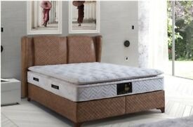 MILANO BED BASE OTTOMAN STYLE BRAND NEW £450