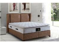 BED BASE MILANO BRAND NEW OTTOMAN STYLE £450