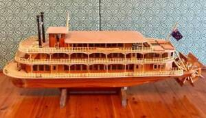 One-of-a-kind model of Sydney Show Boat