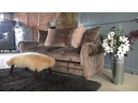 NEW Taupe 3 Seater Sofa, Can Deliver