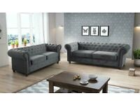 BRAND NEW LUXURY CHESTERFIELD 3+2 SEATER SOFA IN STOCK IN SALE