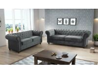 BRAND NEW LUXURY CHESTERFIELD 3+2 SEATER SOFA IN STOCK Now😎🛒😎