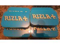 Job lot rizla tins