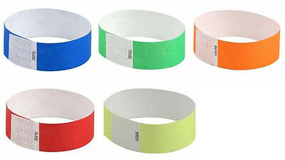 Tyvek Event Wristbands - Assorted Tyvek 1