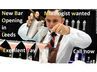 Mixologist Cocktails Alchemist Calling now