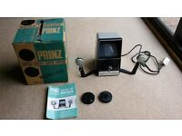 "Prinz ""Oxford 600"" vintage 8mm movie editor and accessories"