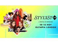 Stylist Live Ticket Olympia Hammersmith Friday 10th November Only £5 Each Bronze Free Gift