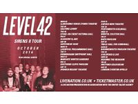 Level 42 Gig Tickets Stoke on Trent 6th October 2016