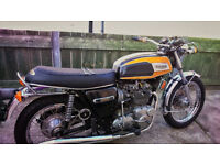 1975 Triumph Trident t150v 750cc.