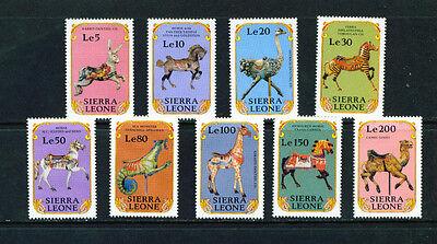 Sierra Leone - Mint NH - Scott# 1263-71 - SCV$ 11.70