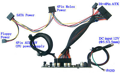250W DC 12V Mini ITX Power Supply | ATOM HTPC mini picoPSU...