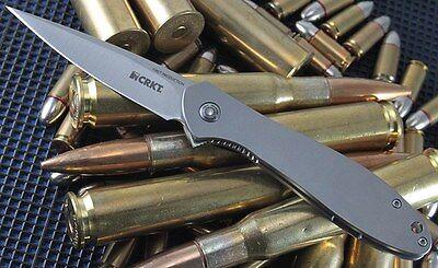 Couteau CRKT Large Eros Ken Onion Folder Acier AUS-8 Manche 420J2 CRK456XXP Ken Onion 8
