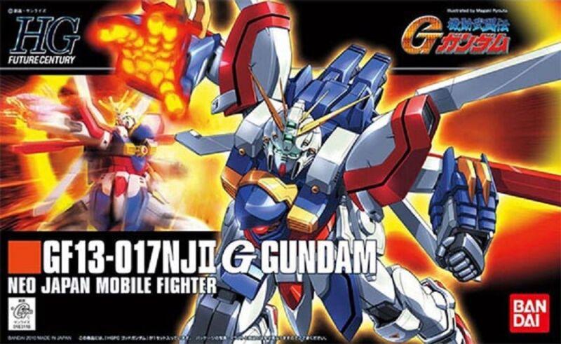 Bandai Mobile Fighter G Gundam HGFC 110 God Gundam HG 1/144 Model Kit USA Seller