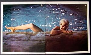 MARILYN-MONROE-VINTAGE-PIN-UP-CENTERFOLD-POSTER-SKINNY-DIPPING-NUDE-IN-POOL-HOT