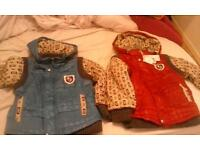 brand new unisex kids jackets