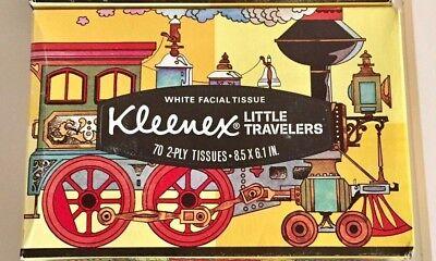 Kleenex VINTAGE Little Travelers Flags of The Revolution Gadsden Map - Little Flags