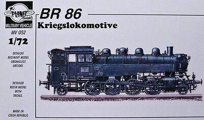 PLANET MODELS MV052 WWII German BR86 Kriegslokomotive Resin Kit in 1:72