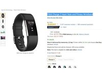 Fitbit Charge 2 Heart Rate and Fitness Wristband - brand new - seald