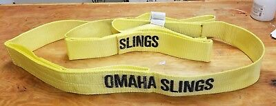 Omaha Sling Nws-drawbar-as Nylon Web Sling Brand New Free Shipping