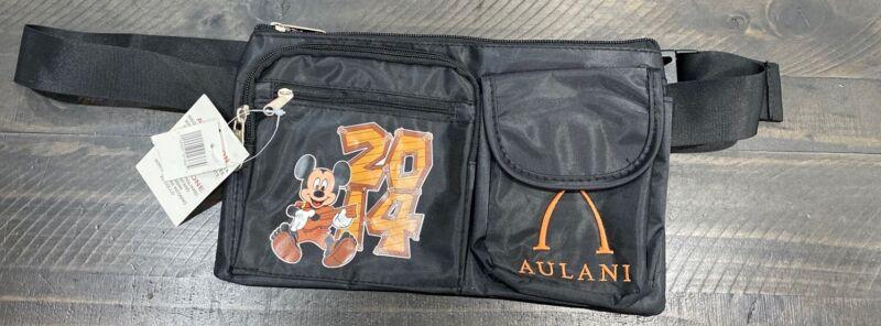 Disney Parks Aulani 2014 Mickey Mouse Fanny Pack Waist Bag NWT