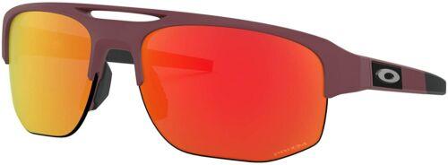 Oakley MERCENARY Sunglasses OO9424F-0268 Matte Vampirella W/ PRIZM Ruby ASIA FIT