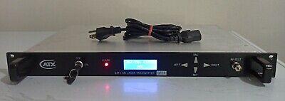 Atx Networks Catv Am Laser Transmitter Qfct1313-10 Sn 140812 06729 With Keys